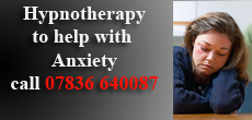 HYpnosis to help Anxiety